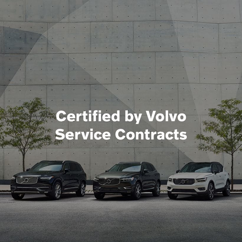 Certified by Volvo Service Contracts